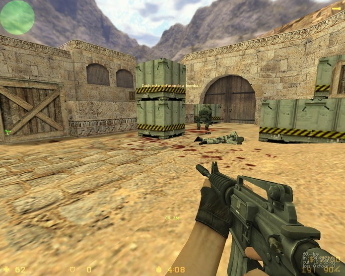 Gráfico Counter Strike 1.6